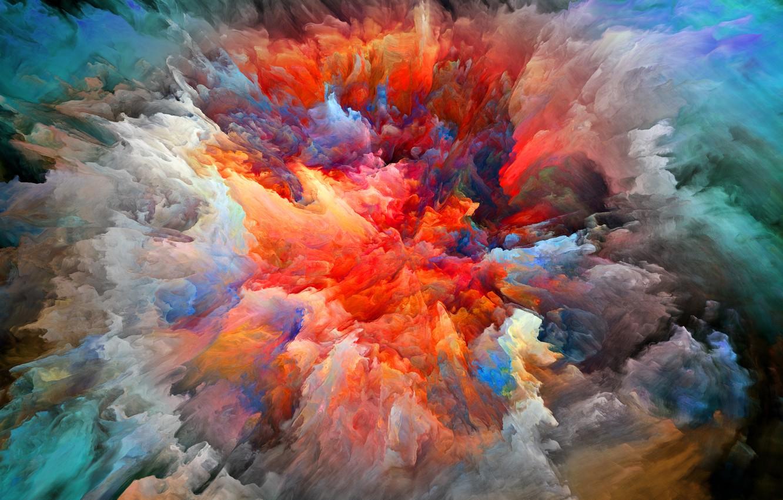 Обои яркость, Цвет, дым. Абстракции foto 7