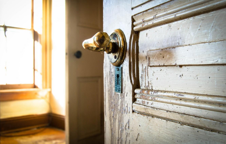 Обои Дверь, комната. Разное foto 12