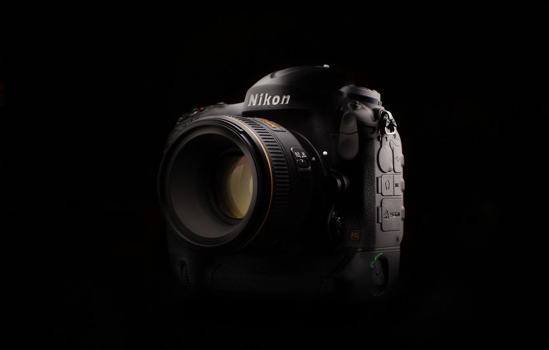Фото обои фон, камера, Nikon