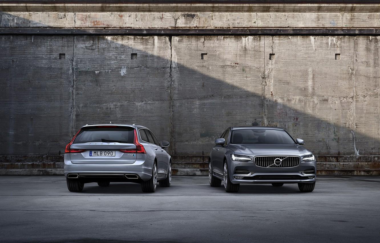 Фото обои Volvo, S90, V90