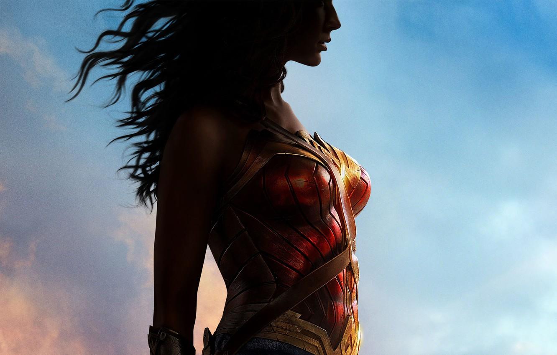 Фото обои Wonder Woman, DC Comics, Gal Gadot
