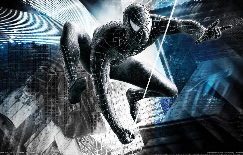 Фото обои человек, паук, spider, герой, защитник, man