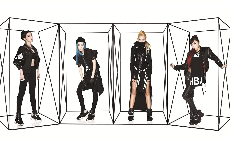 Фото обои музыка, девушки, азиатки, Южная Корея, 2NE1, K-pop