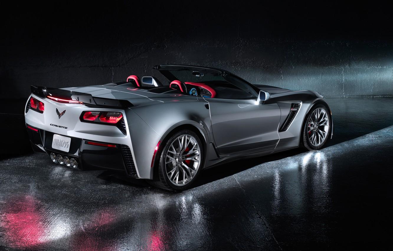 Фото обои car, Chevrolet, корвет, Convertible, Corvette Z06