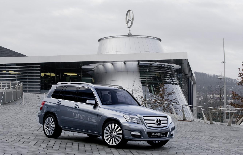 Фото обои Mercedes, GLK, Hybrid