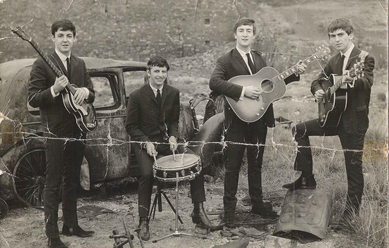 Фото обои музыка, The Beatles, легенда