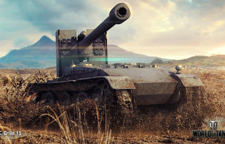 Фото обои германия, мир танков, гриль, world of taks, пт-сау., Grillу 15