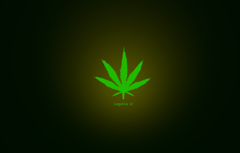 Фото обои minimal, marijuana, legalize it, herbal