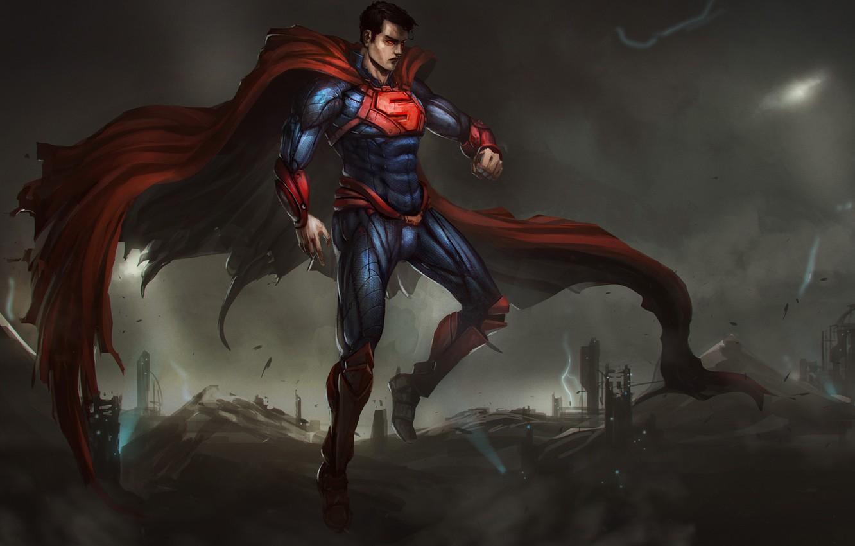 Обои clark kent, superman, kal-el, dc comics, infinite crisis, Warner Games. Игры foto 15