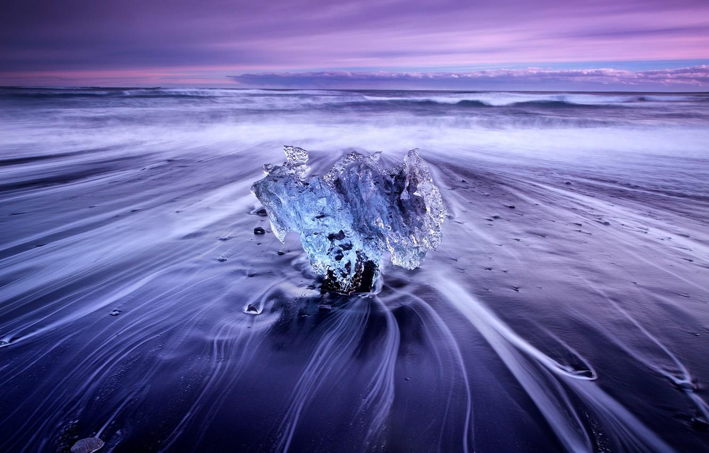 Обои ледниковая лагуна йёкюльсаурлоун, Исландия. Природа foto 18