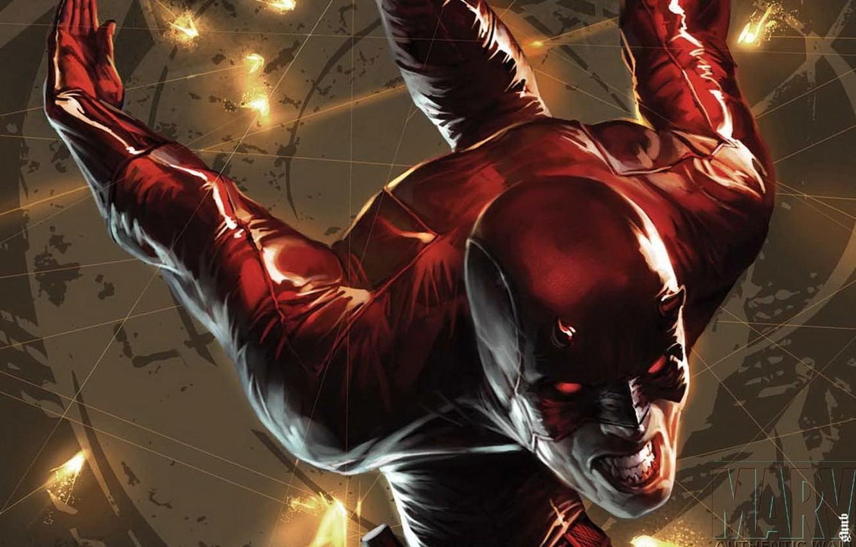 Фото обои red, Marvel, Daredevil, Сорвиголова, Matt Murdock, Мэтт Мёрдок