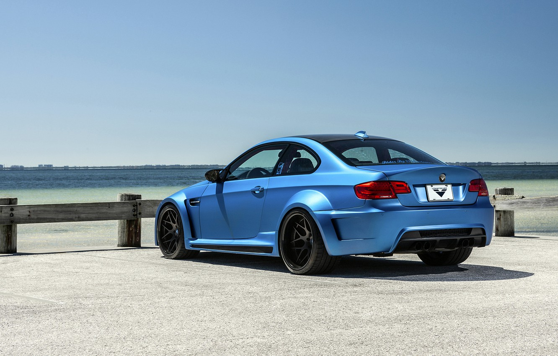 Обои Облака, синий, blue, Bmw, M3, задок. Автомобили foto 15