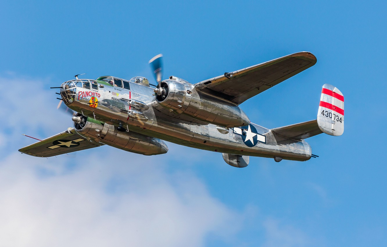 Обои North american, b-25, двухмоторный, американский, средний. Авиация foto 19