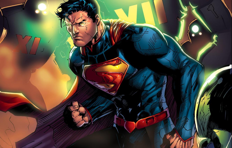 Обои clark kent, superman, kal-el, dc comics, infinite crisis, Warner Games. Игры foto 13