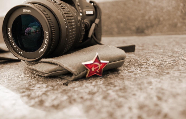 Фото обои звезда, фотоаппарат, 9 мая, 2015