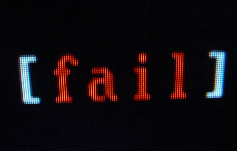 Фото обои монитор, пиксель, fail