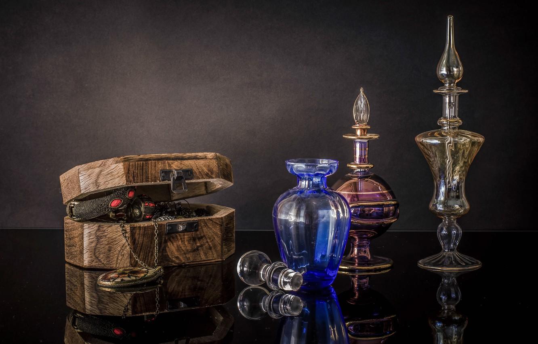 Обои стекло, натюрморт, бутылка, цветы, графин. Разное foto 11