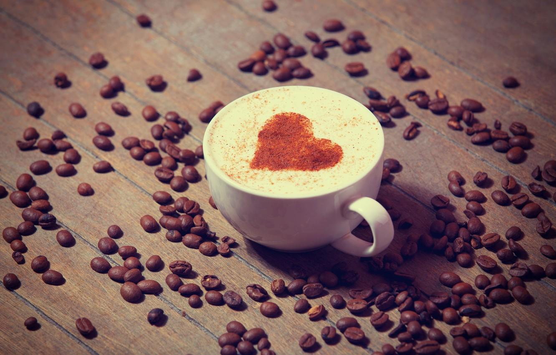 сердце и кофе картинка пригодна для
