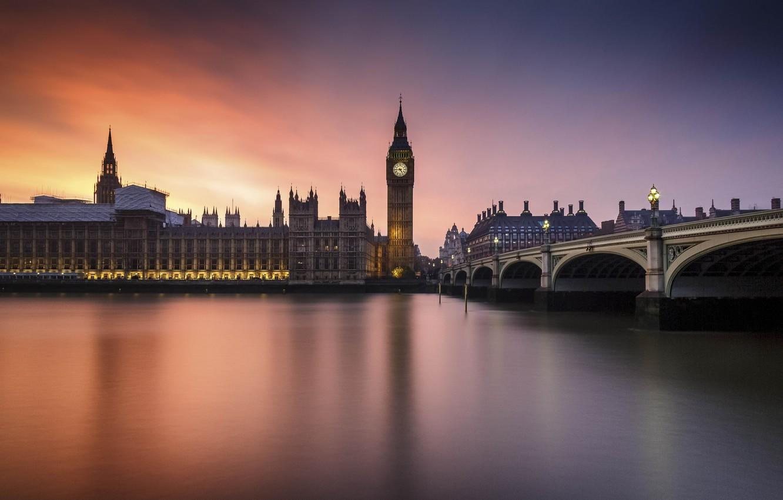 Обои london, Sunset. Города foto 8