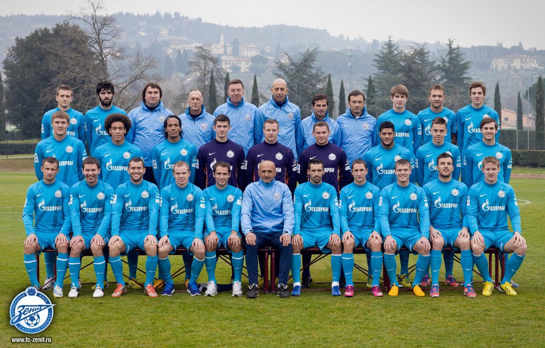 Фото обои футбол, команда, ФК Зенит, 2013