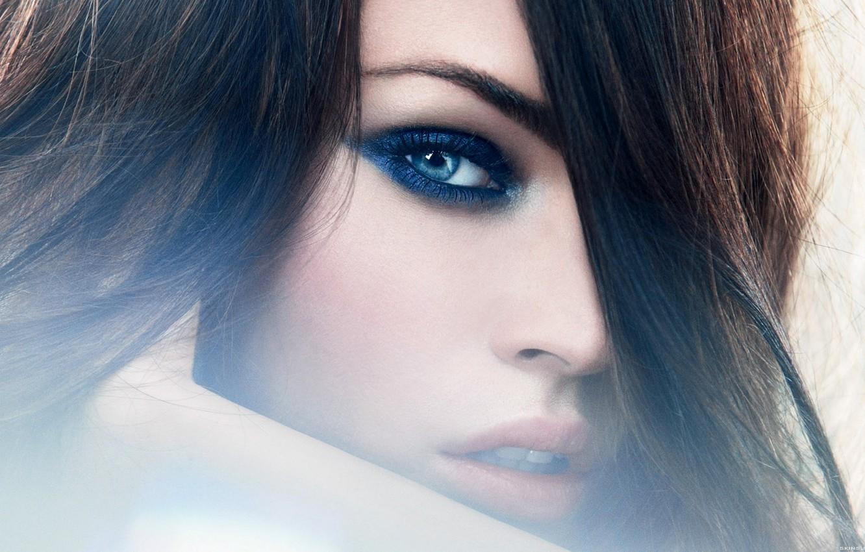 Фото обои взгляд, девушка, лицо, Megan Fox, модель, волосы, актриса, шик