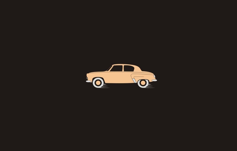картинки минимализм машины темно-синем