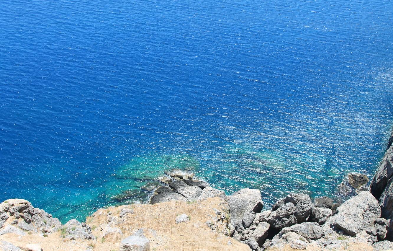 Обои греция, вид на море. Природа foto 14