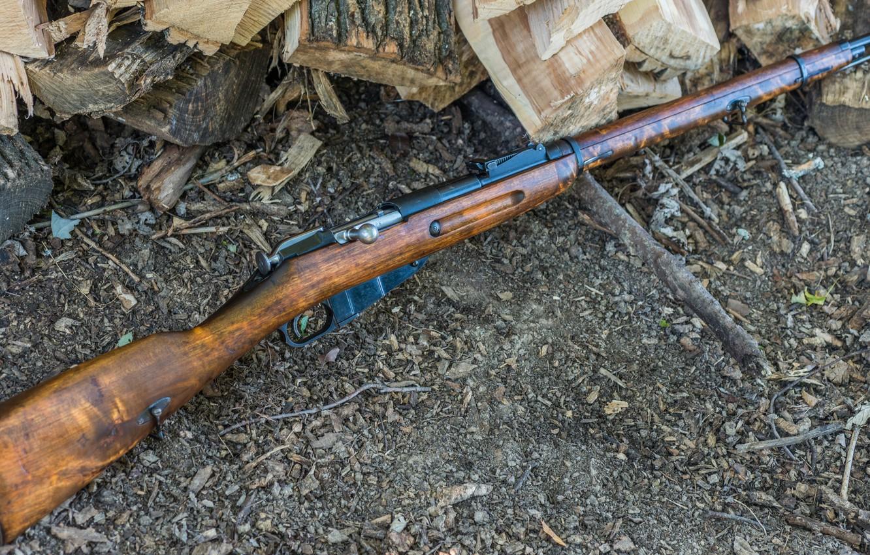 Фото обои винтовка, Мосина, M91/30, магазинная