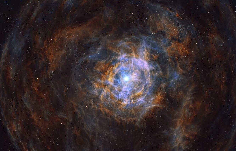 Фото обои энергия, космос, звезды, арт