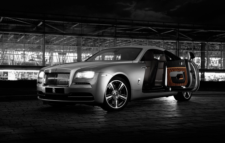 Фото обои Rolls-Royce, ролс ройс, Wraith, 2015, врайт, Inspired by Film