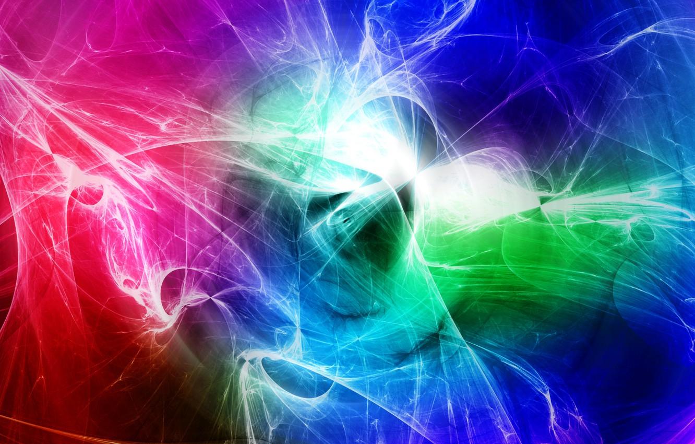 Обои дым, свет, Цвет, фрактал. Абстракции foto 8