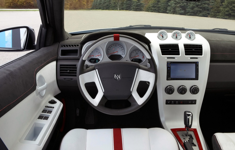 Фото обои вид, Авто, салон, Dodge-Avenger-2007
