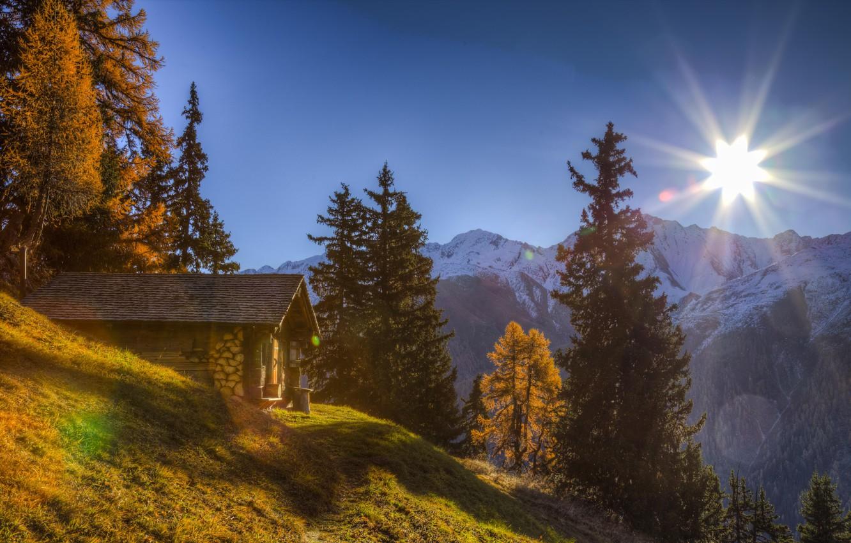 Обои швейцария, гора Нидерхорн, Mount Niederhorn, alps, Switzerland, альпы. Природа foto 13