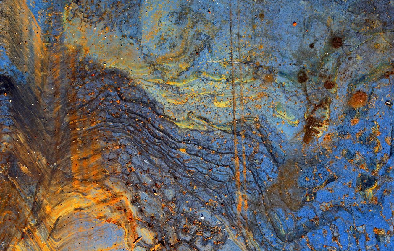 Фото обои металл, краска, ржавчина
