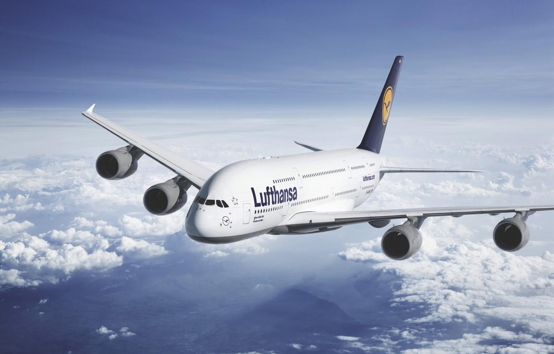 Обои Lufthansa. Авиация foto 6