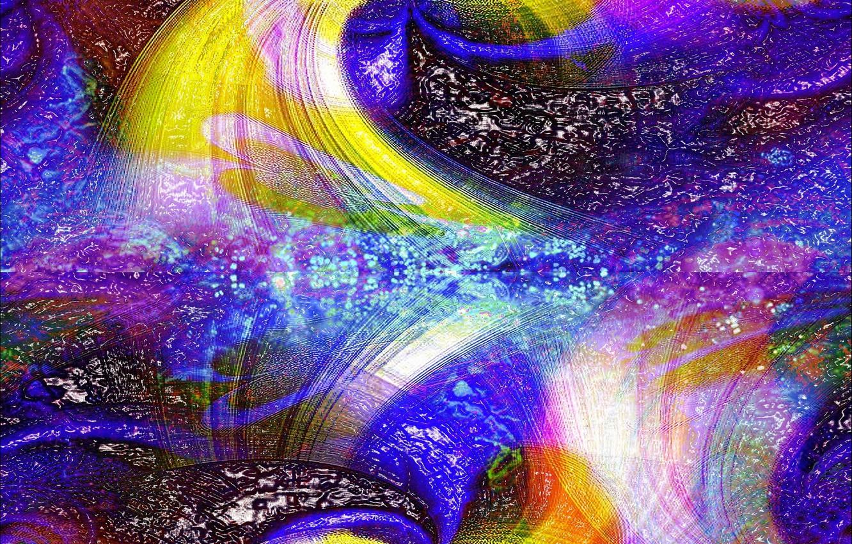 Обои узор, Цвет, хаос, свет. Абстракции foto 13