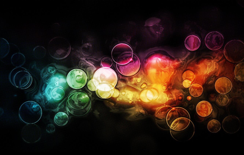 Фото обои свет, круги, абстракция, узоры, краски, colors, light, circles, patterns, боке, bokeh, abstraction, 2560x1600