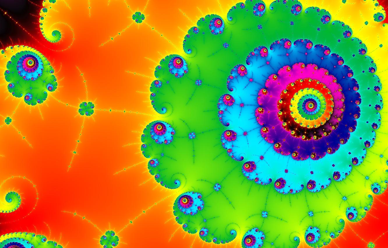 Обои спираль, узор, свет, Цвет. Абстракции foto 13
