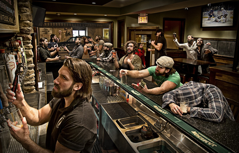 Фото обои люди, бар, персонажы, образы, характеры