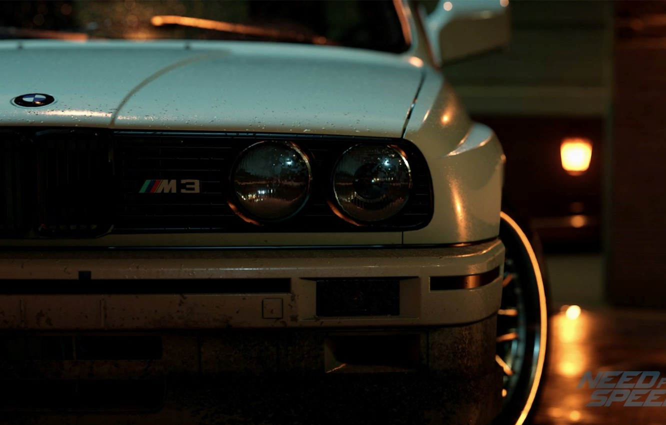 Фото обои BMW, nfs, E30, нфс, Need for Speed 2015, this autumn, new era