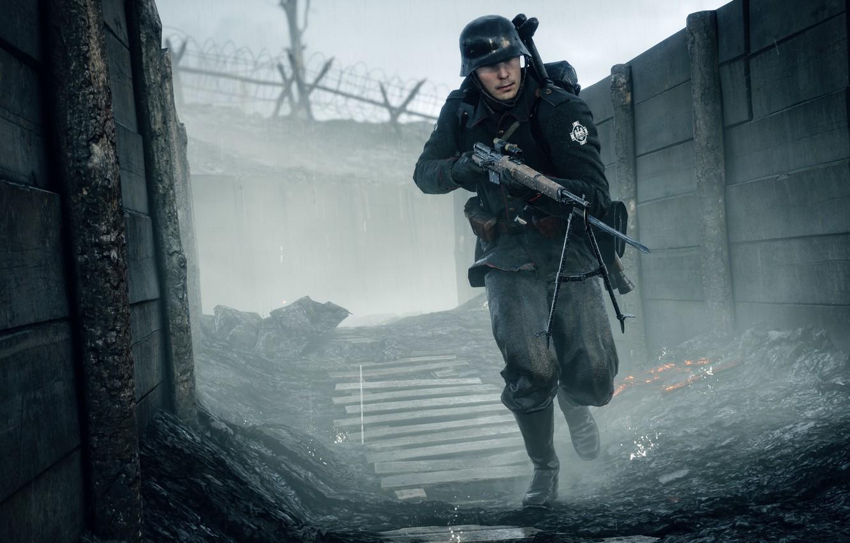 Обои воина, electronic arts, Battlefield 1, окопы. Игры foto 6