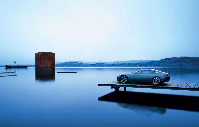 Фото обои море, вода, пейзаж, машины, океан, вид, вечер, тачки