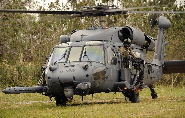 Обои pave hawk, маска, helicopter, air force, солдат, hh-60g. Авиация foto 6