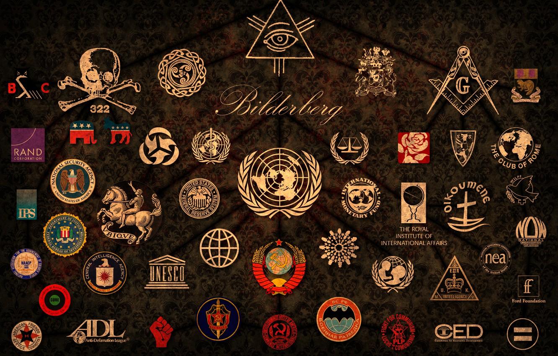 Фото обои World, the, The, эмблемы, Conspiracy, Rule