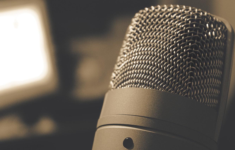 Обои микрофон, фотосессии. HI-Tech foto 9