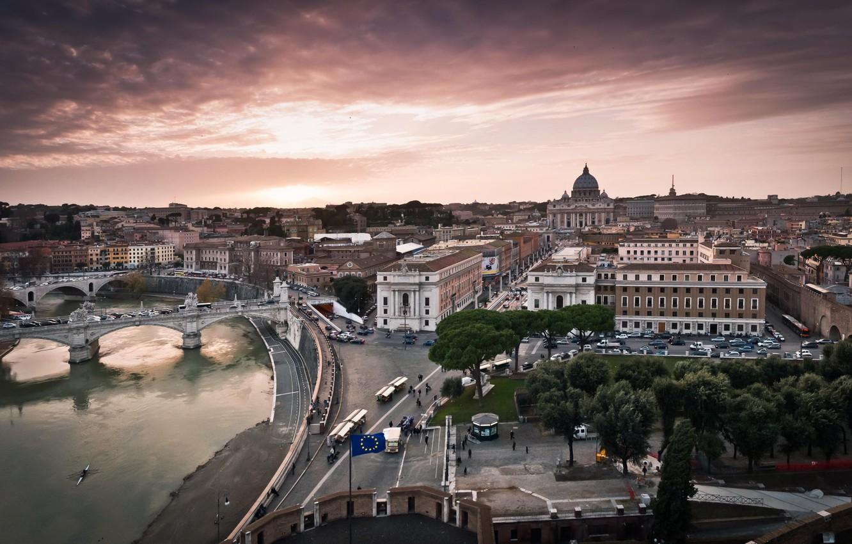 Обои улица, Ватикан, здания, дома. Города foto 6