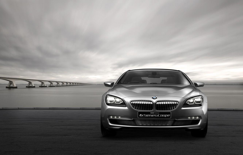 Фото обои Concept, бмв, купе, BMW, концепт, Coupe, F13, 6-Series