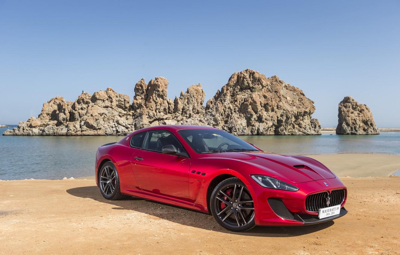 Фото обои Maserati, GranTurismo, 2014, Pininfarina, Stradale