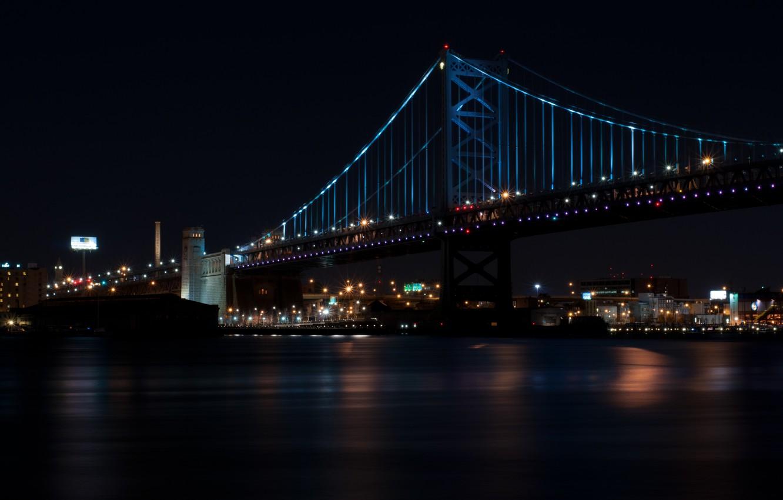 Обои филадельфия, philadelphia, ночь, сша. Города foto 10