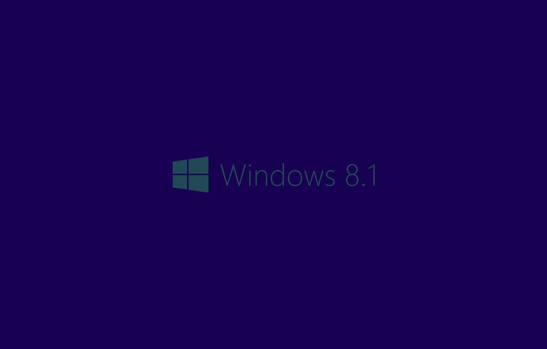 обои синий фон логотип Windows 81 картинки на рабочий